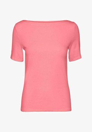 Basic T-shirt - geranium pink