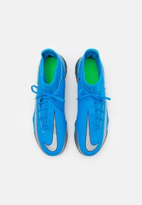 Nike Performance - PHANTOM GT CLUB DF TF  - Astro turf trainers - photo blue/metallic silver/rage green - 3