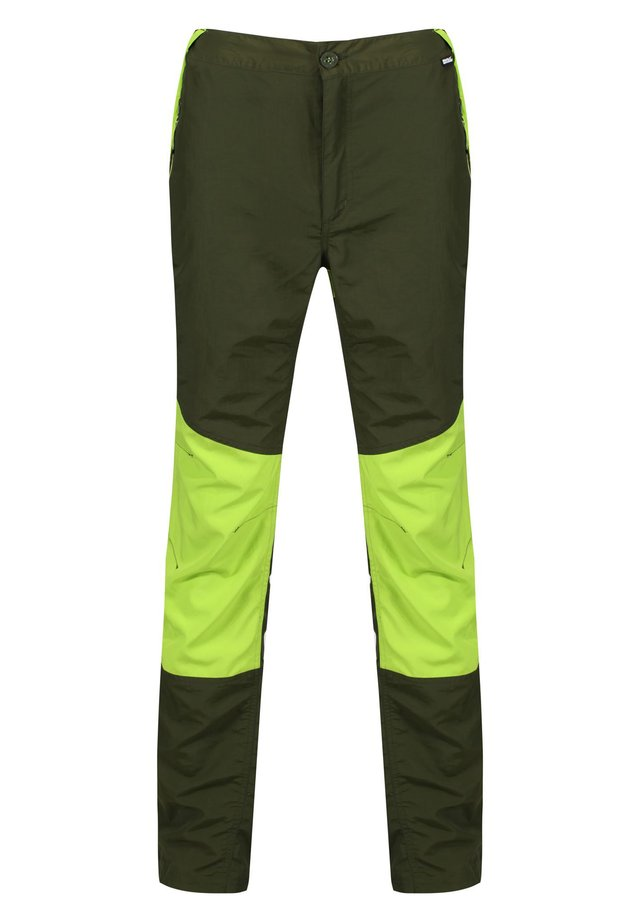 Outdoor trousers - racegrn/lime