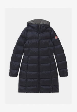 MEDIUM LENGHT GIRL  - Down coat - navy blue/dark steel