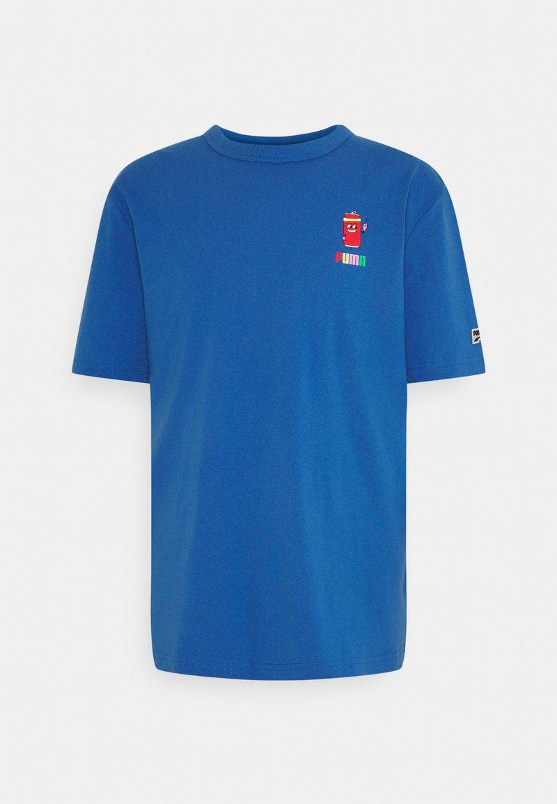 Puma - DOWNTOWN GRAPHIC TEE - Print T-shirt - star sapphire