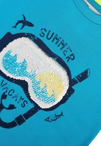 MINOTI - Print T-shirt - turquois - 3