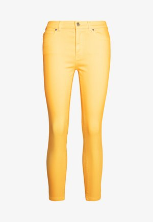 CHARLIE CROPPED - Jeans Skinny Fit - light/ pastel yellow