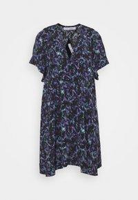 Iro - BAGO DRESS - Denní šaty - black/multicolored - 4