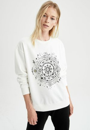 REGULAR FIT - Sweatshirt - ecru