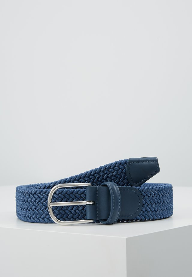 BELT - Braided belt - teal