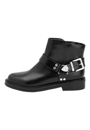 BLACK WESTERN BOOTS (OLDER) - Classic ankle boots - black
