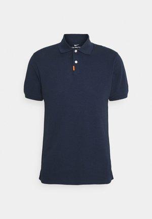 THE SLIM  - Polo shirt - obsidian