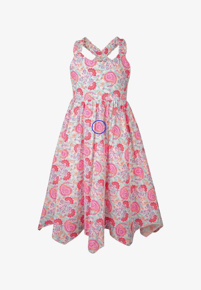 Robe d'été - neon pink