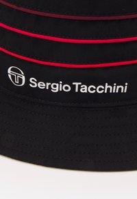 Sergio Tacchini - AMARILLIS HAT - Hat - anthracite/tango red - 3