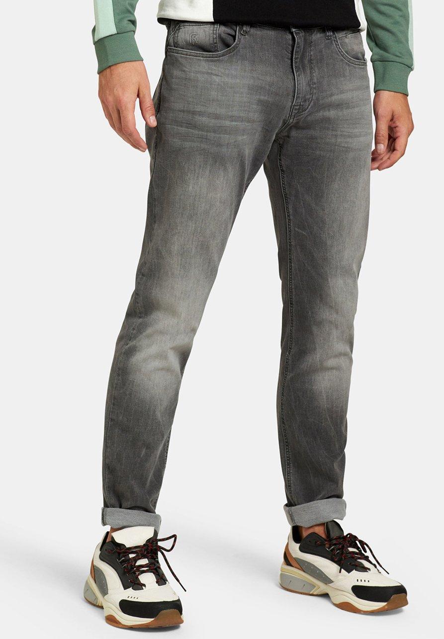 Uomo LUCAS SLIM GYM LGREY L34 - Jeans slim fit
