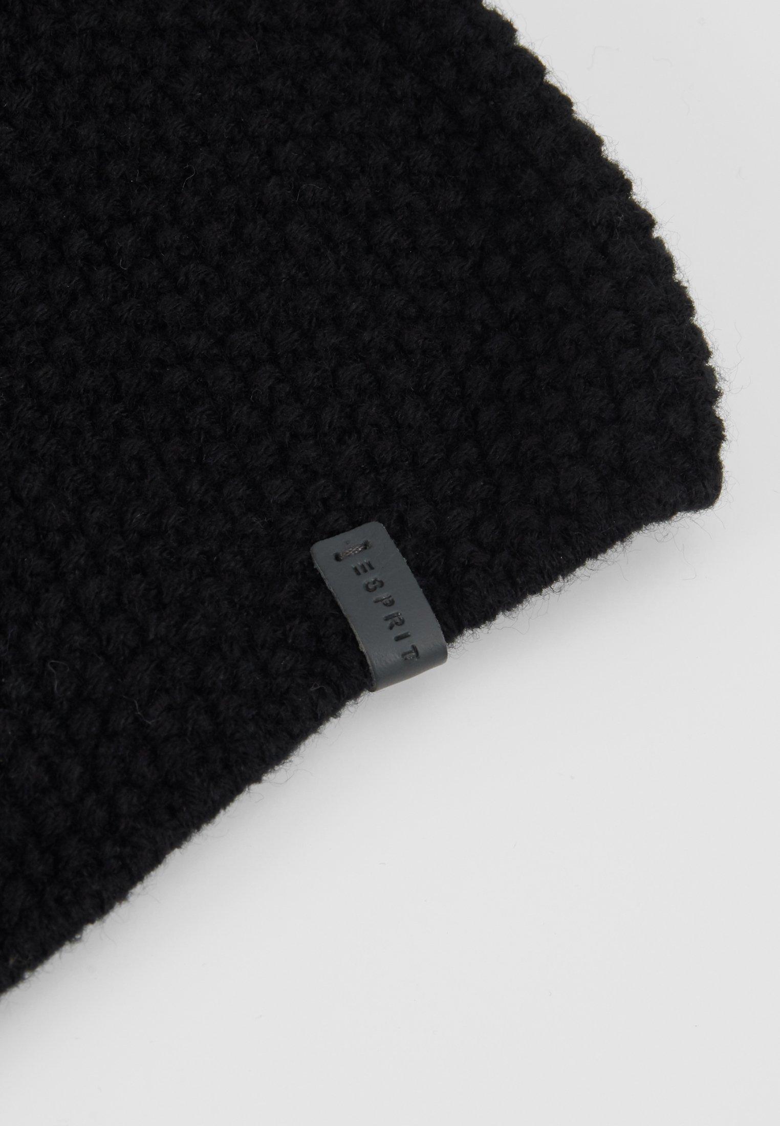 Esprit Mütze - Black/schwarz