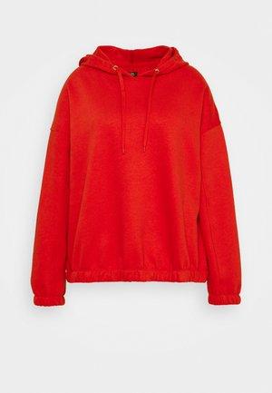 PULL ON HOODIE - Sweatshirt - red