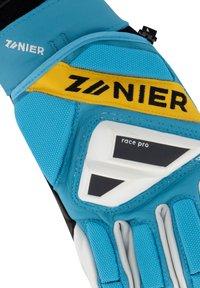 Zanier - Gloves - türkis-gelb - 4