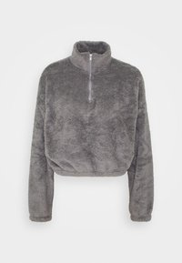 Nly by Nelly - FLUFFY - Fleece jumper - gray - 0