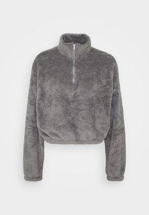 FLUFFY - Fleece trui - gray