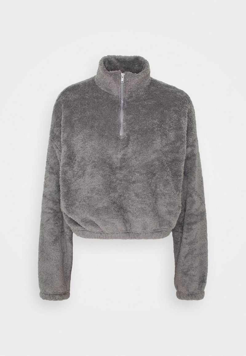 Nly by Nelly - FLUFFY - Fleece jumper - gray