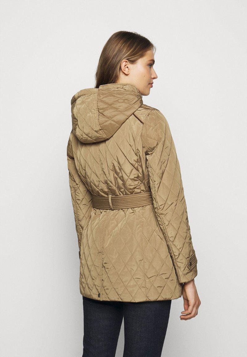 Lauren Ralph Lauren - JACKET BELT - Winter coat - sand