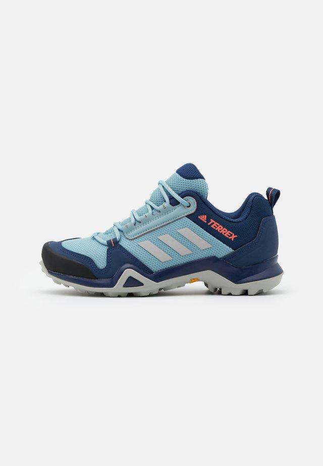 TERREX AX3 - Hiking shoes - tech indigo/grey two/signal coral