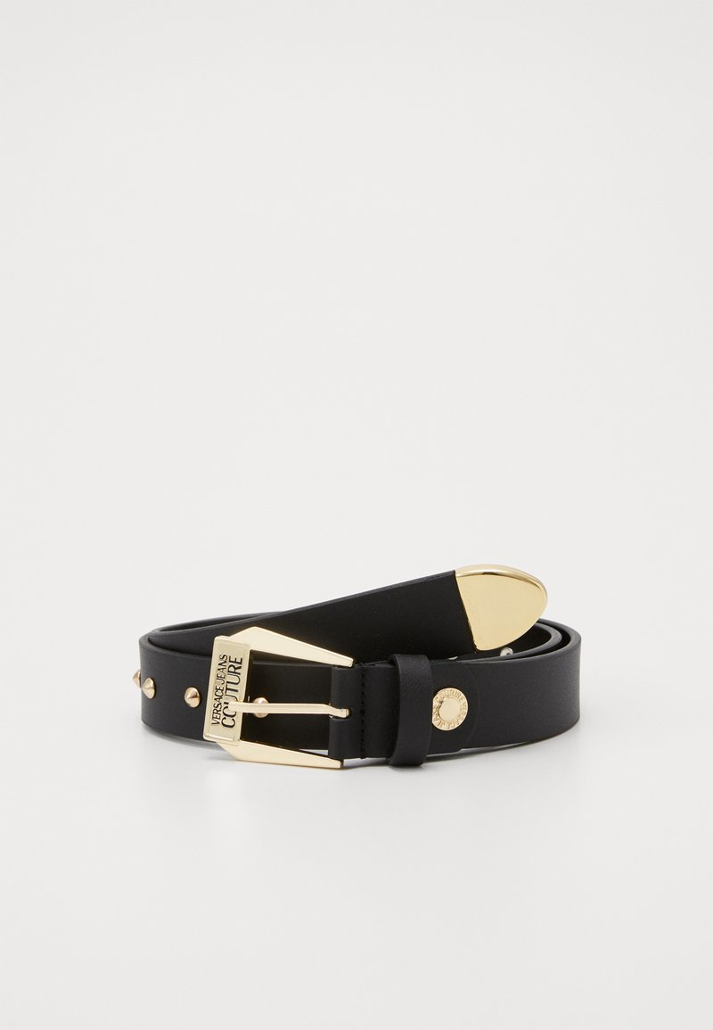 Versace Jeans Couture - PIN BUCKLE WIDE BELT - Belt - nero/oro