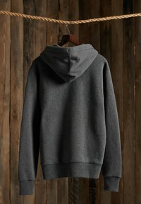 Superdry - CLASSIC ZIPHOOD - Zip-up hoodie - dark marl - 1