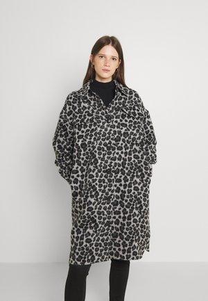 VMLEONIELOLA COAT  - Mantel - asphalt leopard