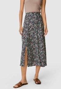 C&A - A-line skirt - black - 0