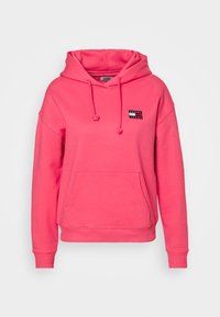 Tommy Jeans - BADGE HOODIE - Sweat à capuche - glamour pink - 4