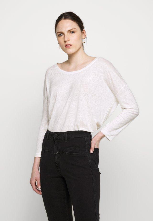 WOMENS - Pitkähihainen paita - ivory