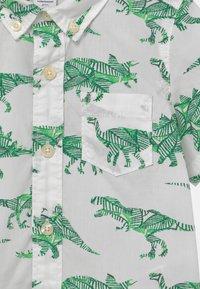 GAP - TODDLER BOY  - Košile - white/green - 2
