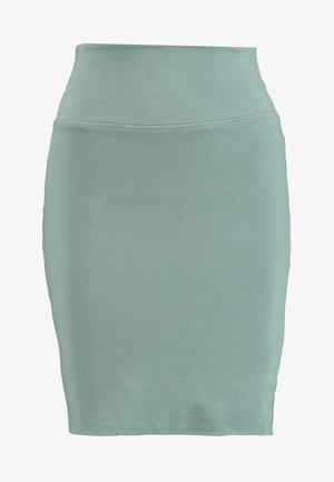 PENNY - Falda de tubo - dusty jade