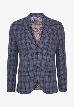 CHECKED - Blazer jacket - blue