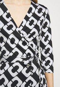 Diane von Furstenberg - NEW JULIAN TWO - Jersey dress - black/white - 7