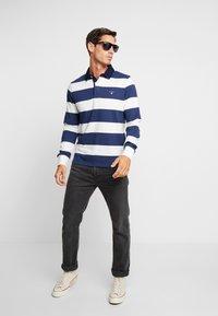 GANT - ORIGINAL BARSTRIPE HEAVY RUGGER - Polo shirt - eggshell - 1