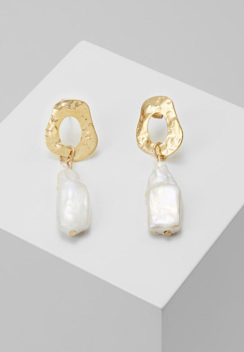 Leslii - Boucles d'oreilles - gold-coloured