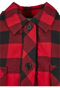 Urban Classics - Button-down blouse - black/red - 6