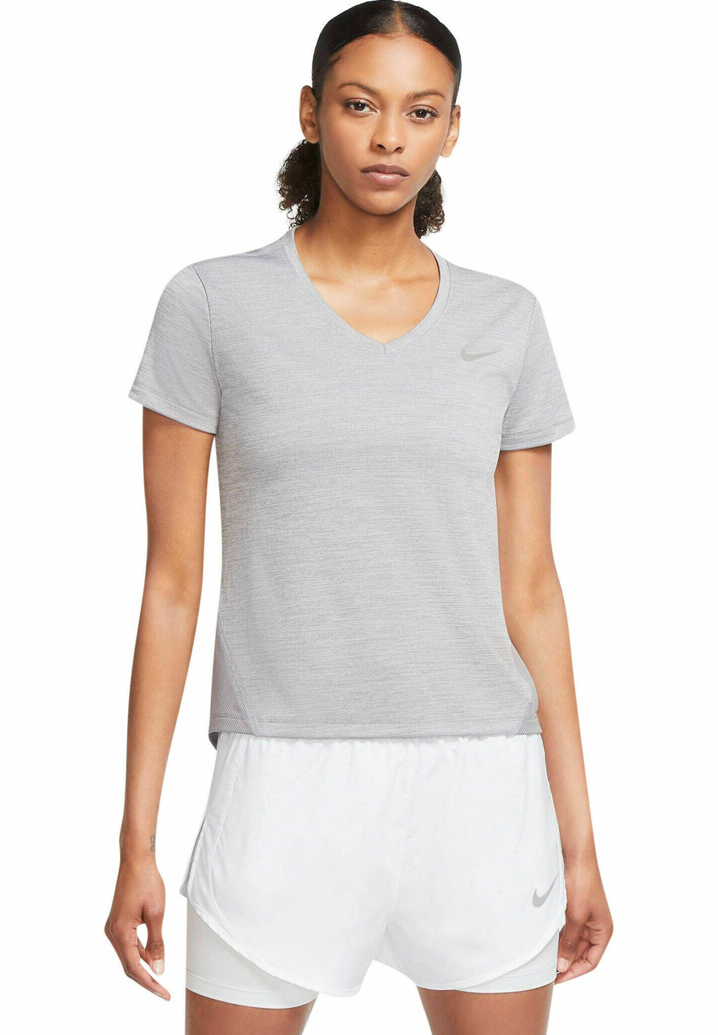 Damen MILER - T-Shirt print - mittelgrau