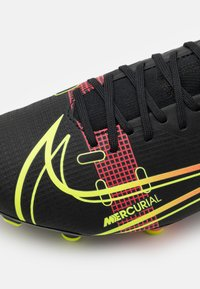Nike Performance - MERCURIAL 8 ACADEMY FG/MG - Moulded stud football boots - black/cyber/off noir - 5