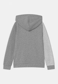 Guess - JUNIOR HOODED ACTIVE - Zip-up sweatshirt - light heather grey - 1