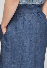 s.Oliver - A-line skirt - faded blue melange - 5