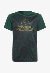 adidas Performance - B SEAS TEE - T-Shirt print - green - 0