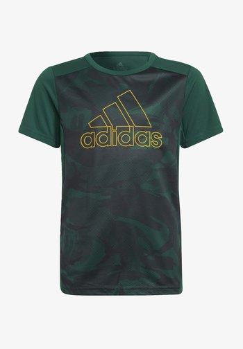 B SEAS TEE - T-shirt print - green