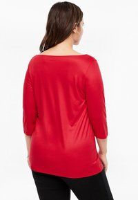 Triangle - MIT WASSERFALL - Long sleeved top - red - 2