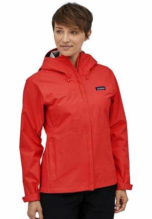 Outdoor jacket - hochrot