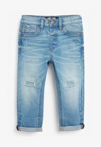 Next - DISTRESSED  - Džíny Slim Fit - bleached denim - 0