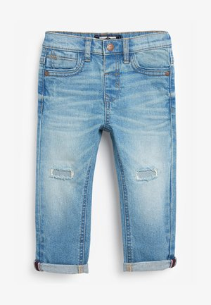 DISTRESSED  - Slim fit jeans - bleached denim
