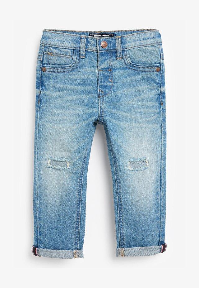 DISTRESSED  - Jeans slim fit - bleached denim