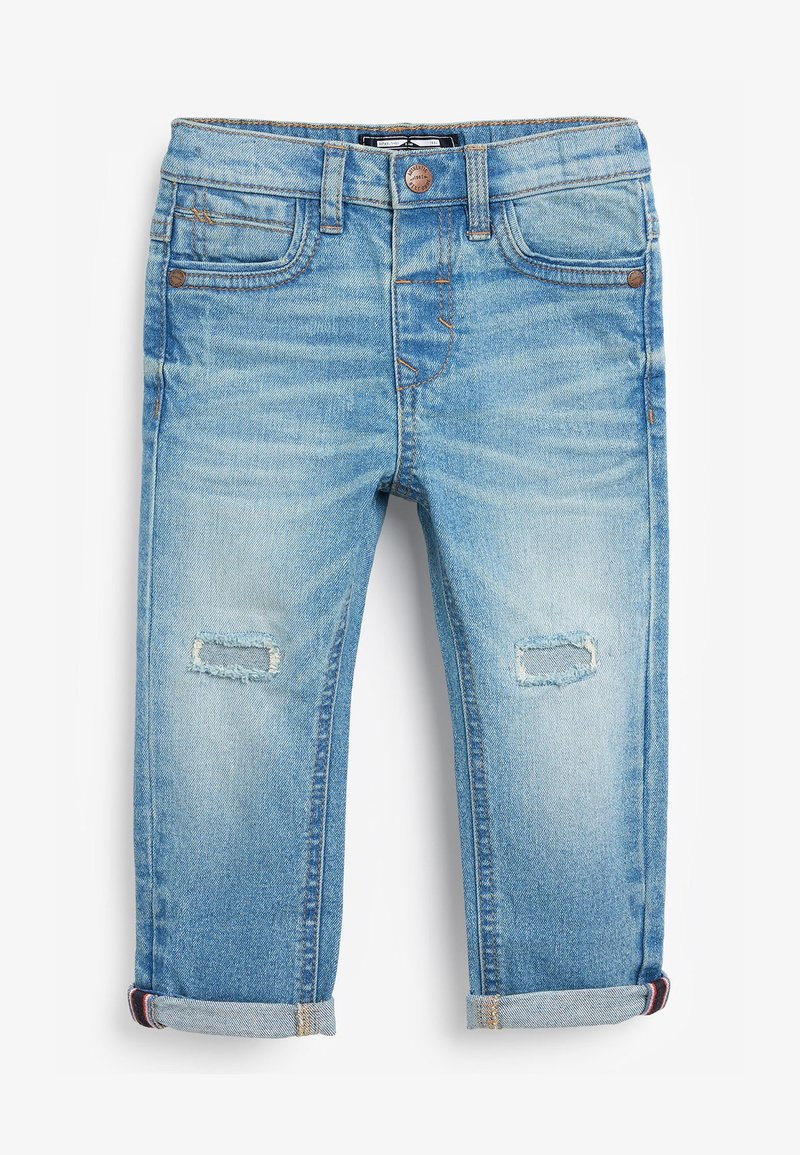 Next - DISTRESSED  - Džíny Slim Fit - bleached denim