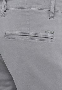 BOSS - REGULAR FIT - Trousers - dark grey - 3