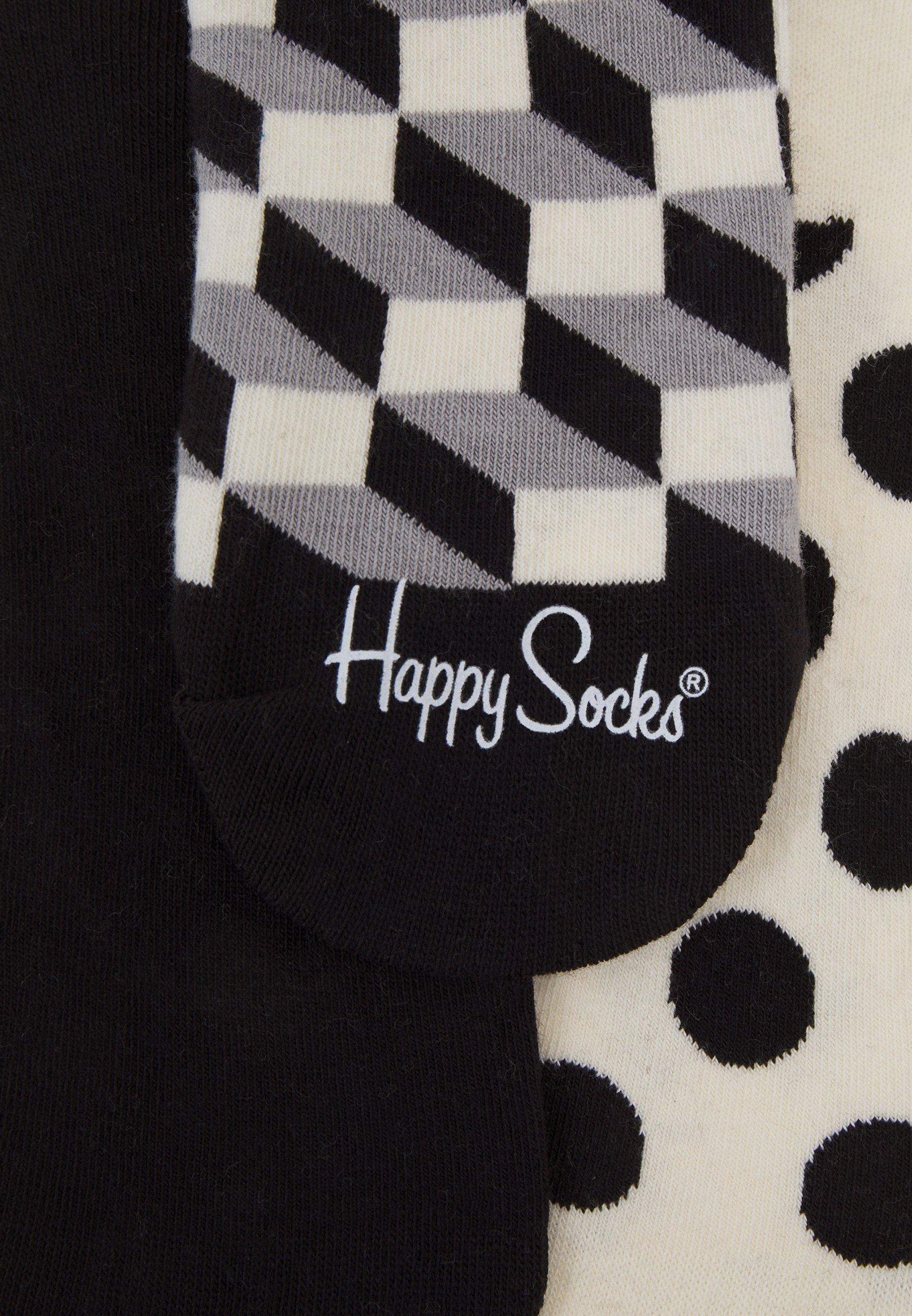 Women FILLED DOT LINER SOCK 3 PACK UNISEX - Socks
